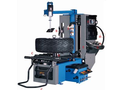 TC980L Automatic Leverless Tyre Changer