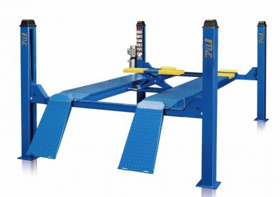 DK-40F4D 3D 4 Post Wheel Alignment Lift